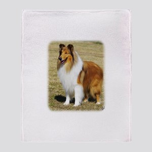 Collie Rough AF036D-028 Throw Blanket