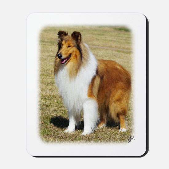 Collie Rough AF036D-028 Mousepad