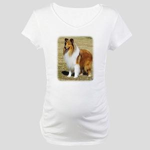 Collie Rough AF036D-028 Maternity T-Shirt