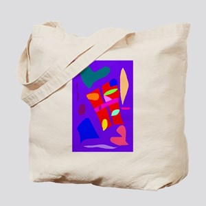 Carefree Vacation Rice Paddy Story Heart Tote Bag