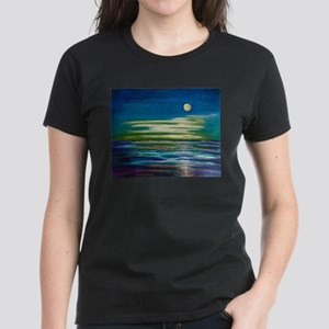 Moonlit Tide Women's Dark T-Shirt