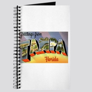 Tampa Florida Greetings Journal
