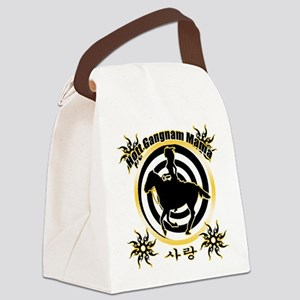 HOTT GANGNAM MAMA Canvas Lunch Bag
