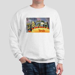 Tampa Florida Greetings (Front) Sweatshirt