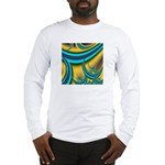Turquoise Moon Long Sleeve T-Shirt