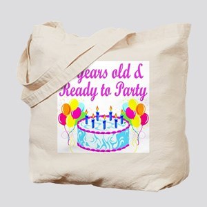 HAPPY 20TH BIRTHDAY Tote Bag