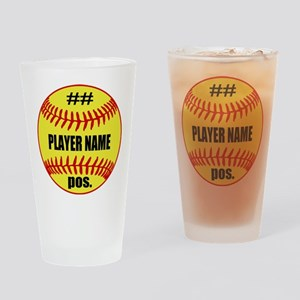 NAME NUMBER POSITION PERSONALIZED SOFTBALL Drinkin