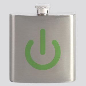 Universal Standby Power Symbol Green Flask