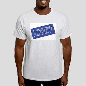 Scheißekopf Ash Grey T-Shirt