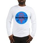 Protein Paletas - large logo Long Sleeve T-Shirt