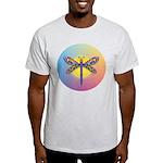 Dragonfly1-Sun-gr1 Light T-Shirt