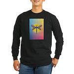 Dragonfly1-Sun-gr1 Long Sleeve Dark T-Shirt