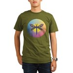 Dragonfly1-Sun-gr1 Organic Men's T-Shirt (dark)