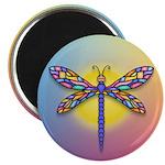 Dragonfly1-Sun-gr1 Magnet