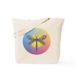 Dragonfly1-Sun-gr1 Tote Bag
