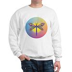 Dragonfly1-Sun-gr1 Sweatshirt