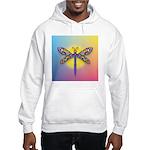 Dragonfly1-Sun-gr1 Hooded Sweatshirt