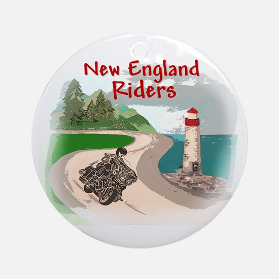 Mountains & Sea Logo Items Ornament (Round)