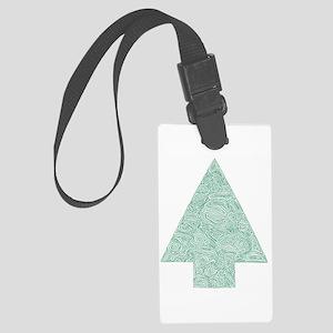 Arrow Tree Large Luggage Tag