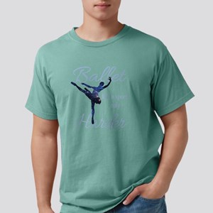 Ballet Like A Sport T Sh Mens Comfort Colors Shirt