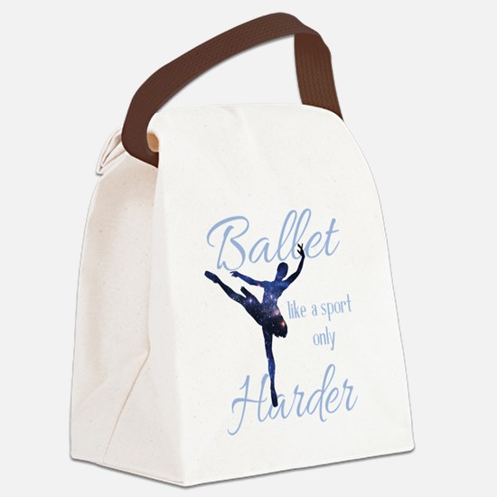Cute I love dance Canvas Lunch Bag