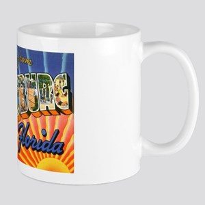 St Petersburg Florida Greetings Mug