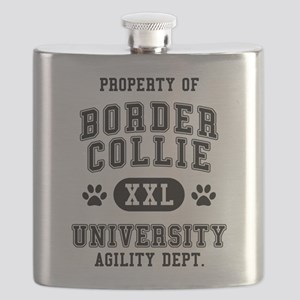 Property of Border Collie Flask