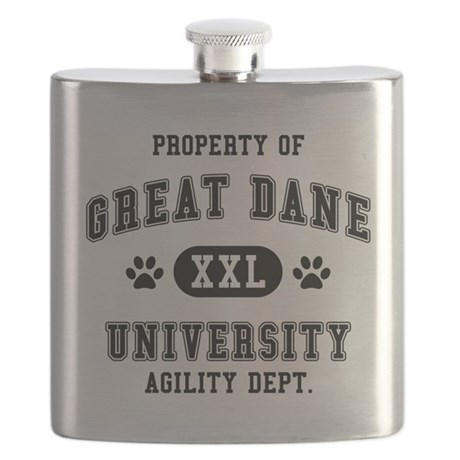 Property of Great Dane Univ. Flask