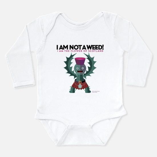 Weed? Long Sleeve Infant Bodysuit