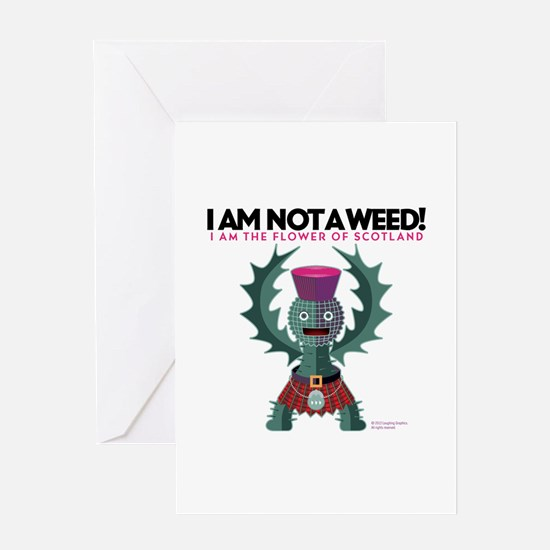 Weed? Greeting Card