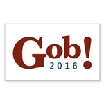 Gob! 2016 Sticker (Rectangle 50 pk)