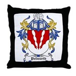 Polwarth Coat of Arms Throw Pillow