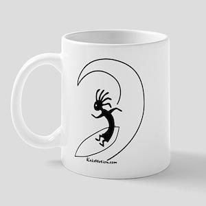 Kokopelli Surfer Mug