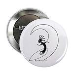Kokopelli Surfer Button
