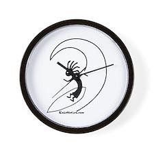 Kokopelli Surfer Wall Clock