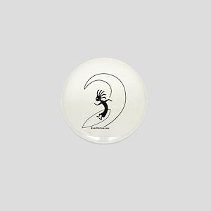 Kokopelli Surfer Mini Button