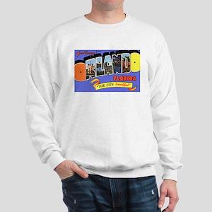 Orlando Florida Greetings (Front) Sweatshirt