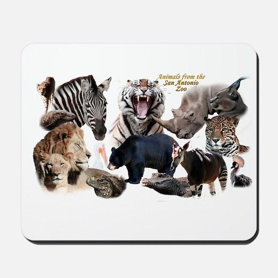 SA Zoo Mousepad