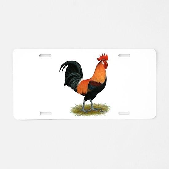 Penedesenca Rooster Aluminum License Plate