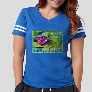 Massage Therapist / Waterlily Womens Football Shir