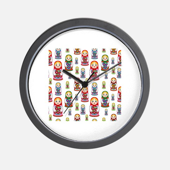 Cute Russian Wall Clock