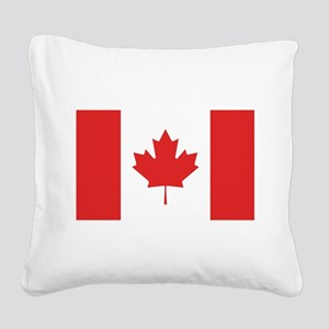 flag_canada Square Canvas Pillow