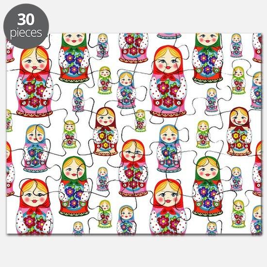 Cute Matryoshka Puzzle