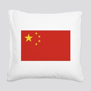 flag_china Square Canvas Pillow