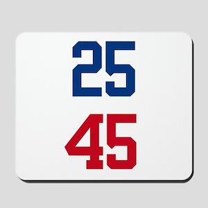 25th Amendment Trump Mousepad