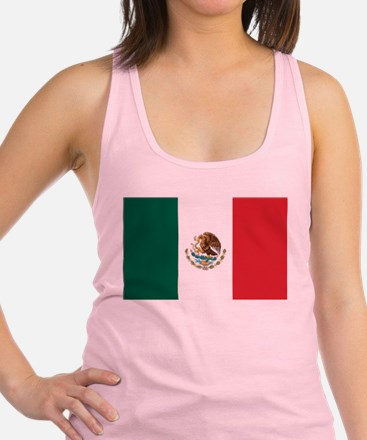 flag_mexico.png Racerback Tank Top