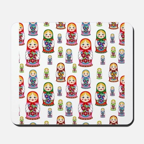 Russian Dolls Mousepad