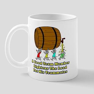 Teamwork and Beer Mug