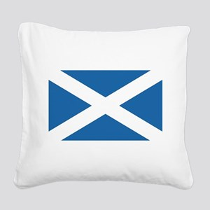 flag_scotland Square Canvas Pillow