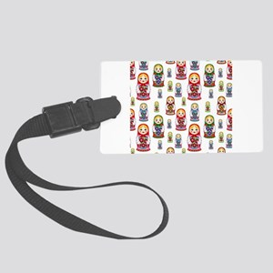 Russian Dolls Large Luggage Tag